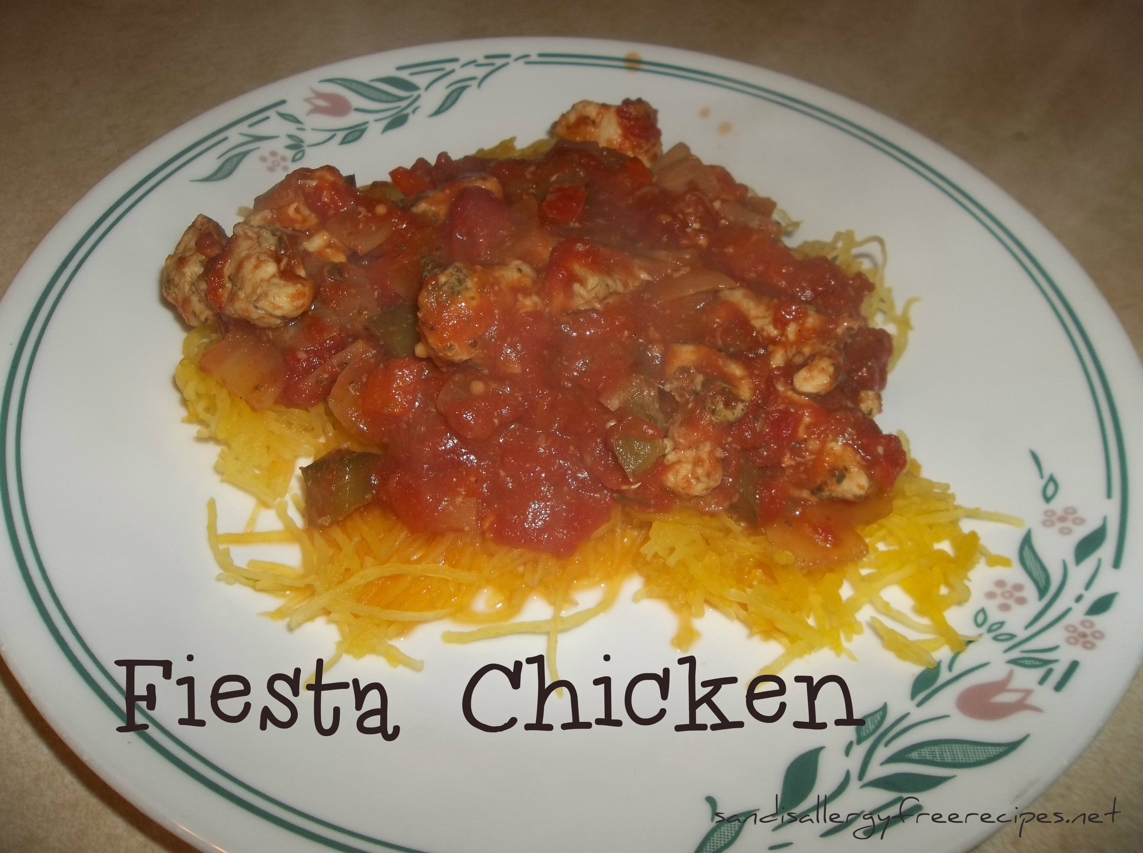 Fiesta Chicken