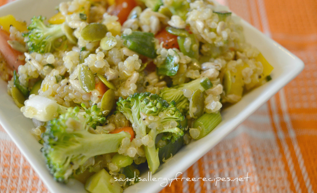 Veggie and Quinoa Salad