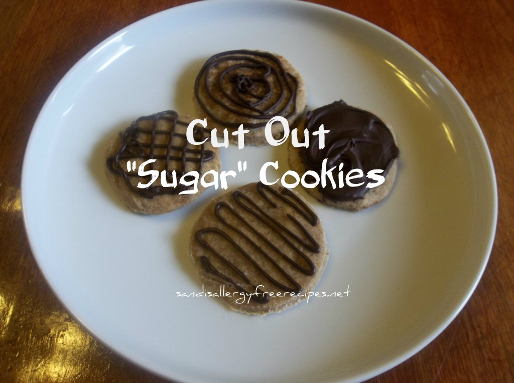 Cut Out 'Sugar' Cookies2