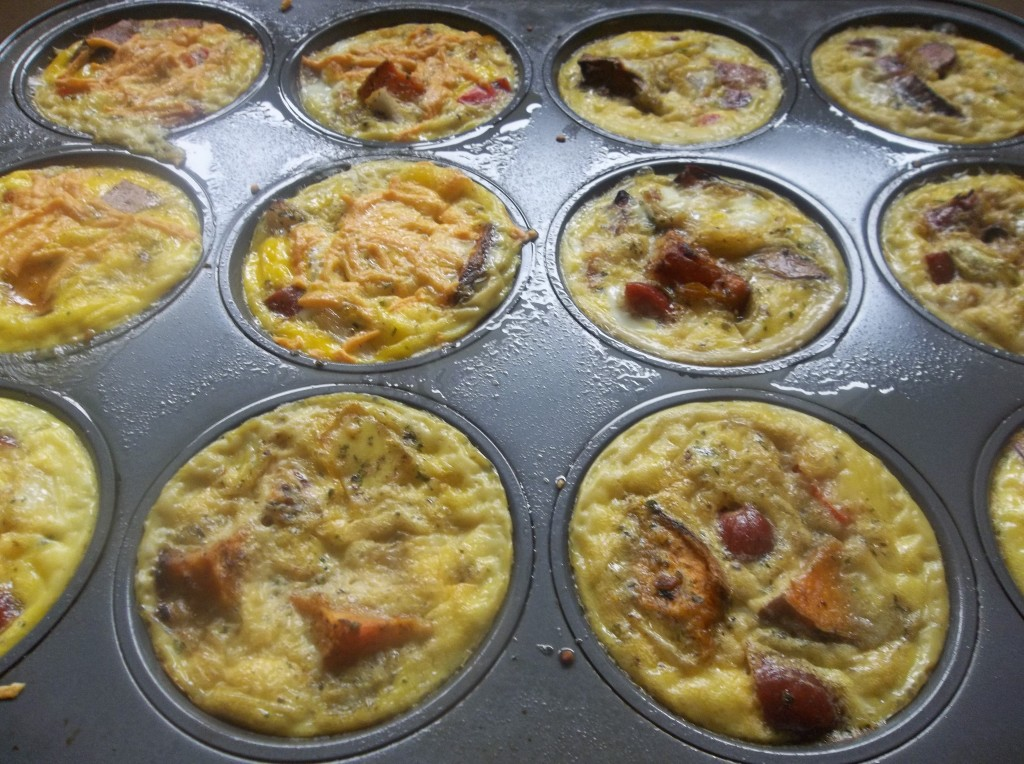 Veggie and Sausage Egg Cups