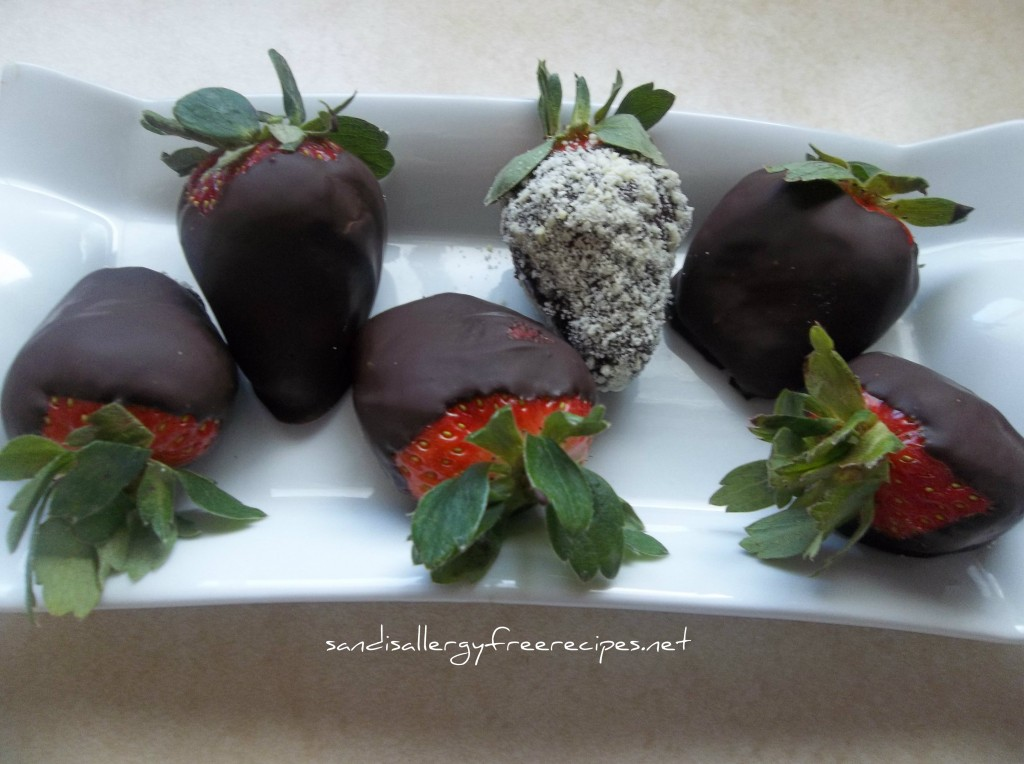 Chocolate Covered Strawberries-Paleo