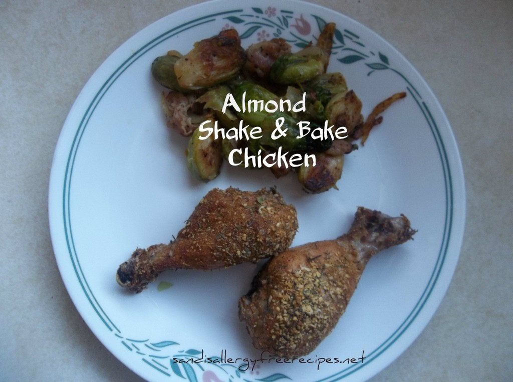 Almond Shake & Bake Chicken