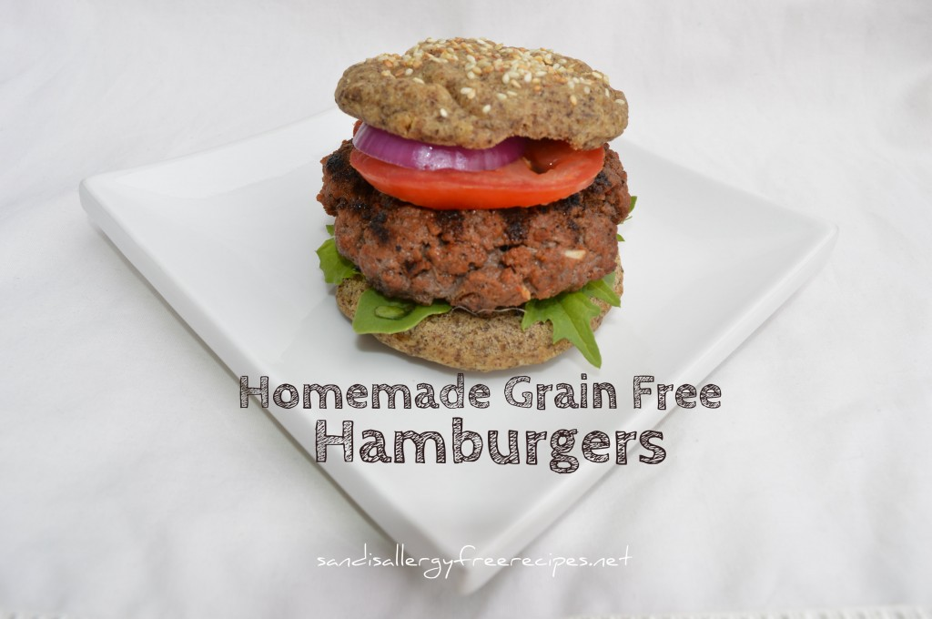 Homemade Grain free Burgers