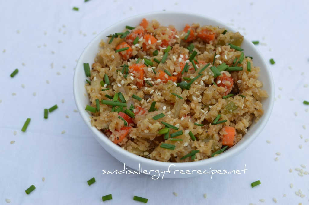 Paleo Veggie Fried 'Rice'