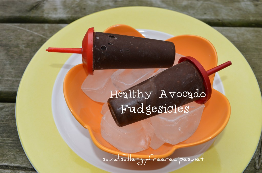 Healthy Avocado Fudgesicles