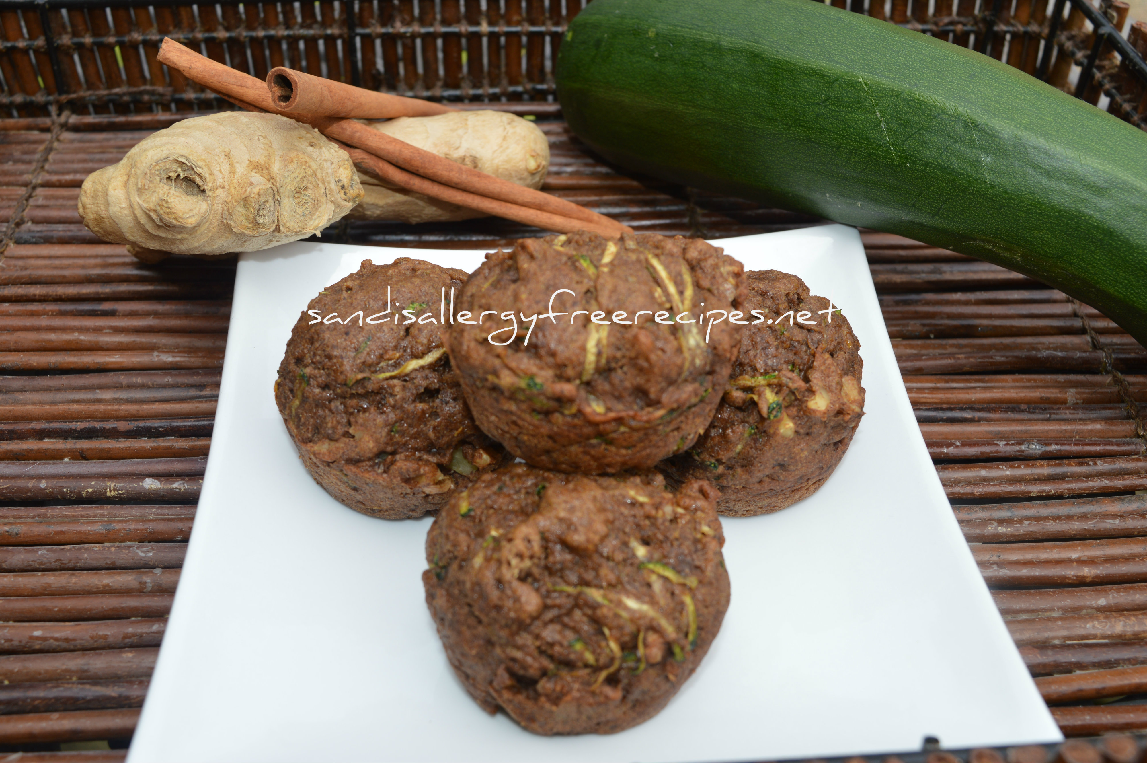 ... savory whole wheat zucchini muffins with feta parmesan and green