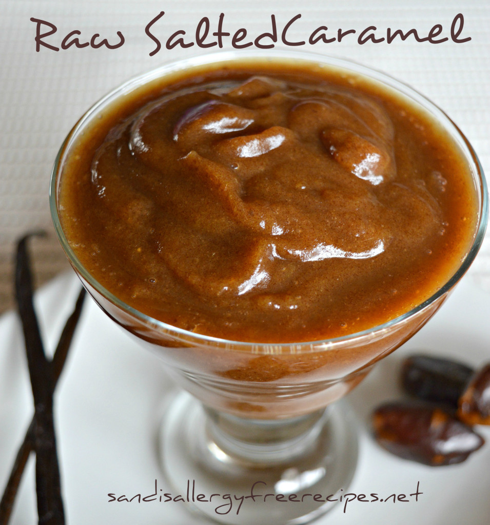 Raw Salted Caramel Sauce